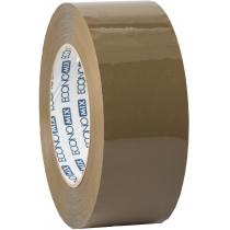 Стрічка клейка пакувальна (скотч) Economix, коричнева, 48мм*200м