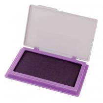 Подушка штемпельна настільна Есonomix, 70х110 мм, фіолетова