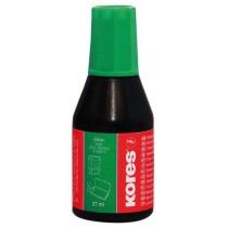 Фарба штемпельна ТМ KORES, зелена