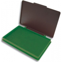 Подушка штемпельна настільна Kores 70х110 мм, зелена