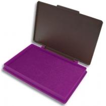 Подушка штемпельна настільна Kores 70х110 мм, фіолетова