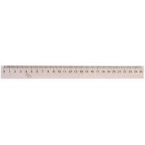 Лінійка дерев'яна, 25 см