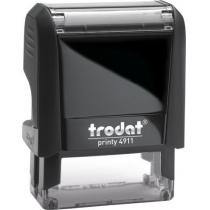 Оснастка для штампу TRODAT 4911 Р4, чорна