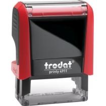 Оснастка для штампу TRODAT 4911 Р4, червона