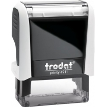 Оснастка для штампу TRODAT 4911 Р4, біла