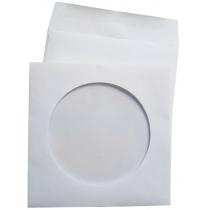 Конверт для CD з віконцем, мокроклеючий