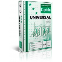 Папір офісний  CAPTAIN Universal, А4, 80г/м2, 500арк, клас C
