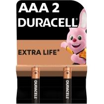 Батарейка DURACELL AAA MN2400 2шт. в упаковці
