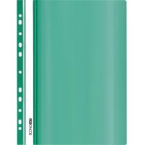 Папка-швидкозшивач глянець А5 з перфорацією зелений