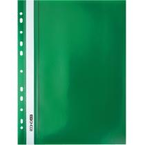 Папка-швидкозшивач  А4 з перфорацією зелений