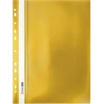 Папка-швидкозшивач  А4 з перфорацією жовтий