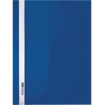 Папка-швидкозшивач  А4 без перфорації синій