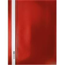 Папка-швидкозшивач  А4 без перфорації червоний