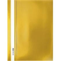 Папка-швидкозшивачА4 без перфорації жовтий