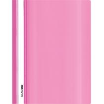 Папка-швидкозшивач глянець А4 без перфорації рожевий