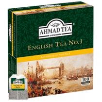 Чай чорний з бергамотом Ahmad Tea Англійський №1, 100шт х 2г