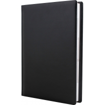 Щоденник напівдатований, А5, Vivella, чорний