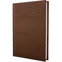 Щоденник датований 2020, А5 ALGORA, коричневий