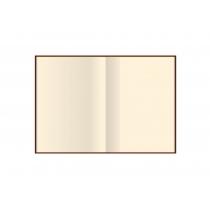 Діловий записник, А5, кремовий нелінований, тверда обкладинка, гобелен,