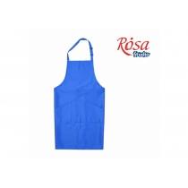 Фартух дорослий, 96*90см, синій, грета, ROSA Studio
