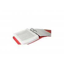 Папка-реєстратор Esselte No.1 Power А4 75мм, колір червоний