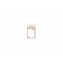 Конверт C4 (0+0) скл, бічний клапан, крафт, 90г/м2, 1 шт