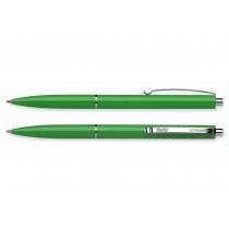 Ручка кулькова автомат. Schneider К15 корпус зелений, пише синім