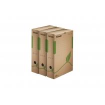 Архівний  короб Esselte Eco, А4, 80 мм, колір коричневий