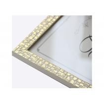 Фоторамка 21х30, пластик, біле золото 1611 B-65 (Арт-Сервiс)