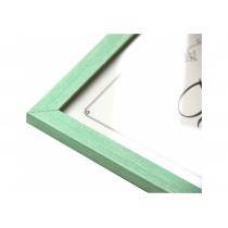 Фоторамка 21х30, пластик, зелена 1611 A-16102-2 (Арт-Сервiс)