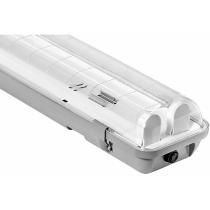 Світильник лінійний світодіодний, DELUX, PC7 LED, (2*1200мм) IP65, G13 без ламп