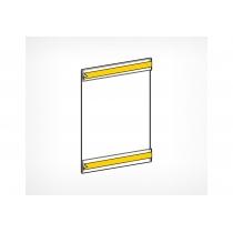 Карман з ПВХ зі скотчем, EPG, формат А4, вертикальний