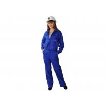 """Костюм """"Передовиця"""" куртка+штани жіночиий, р. S (44-46), зріст 158-164 см, cиній"""