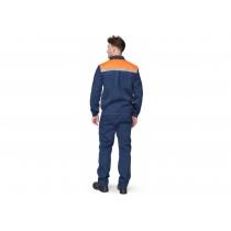 Костюм «Легіонер» куртка+штани синій+помаранч, р. L (52-54), зріст 182-188 см