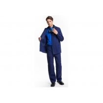 Костюм Бав «Диагональ» куртка+штани з посиленням, р. L (52-54), зріст 182-188 см, cиній