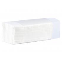 Рушники паперові 2-шар V-cкладання, білий 150 шт ТЕМА