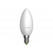 Лампа ЕКО EUROLAMP LED серія  CL 6W E14 3000K