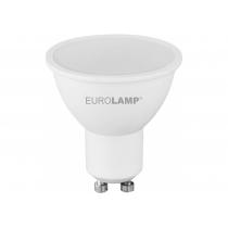 Лампа ЕКО EUROLAMP LED серія  SMD MR16 5W GU10 3000K (200)