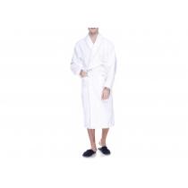 Халат махровий  XXL, щільність (400) колір білий, 16/1 Білий