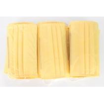 Маска захисна шита, 3-х шарова колір жовтий