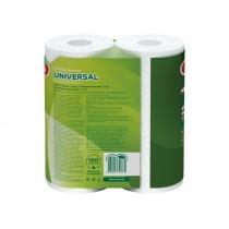 Рушники паперові 2 шари Ruta Universal 2 рулона