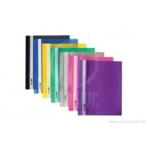 Папка-швидкозшивач А4 без перфорації фіолетовий