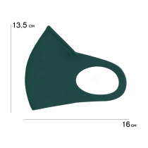 Маска Пітта RedPoint тканинна з фіксацією Смарагд, розмір М