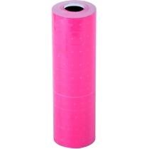Етикетки-цінники Economix 21х12 мм рожеві (1000 шт. / рул.), E21301-09