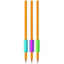 Трикутна гумка-грип для олівця Stripy, кольори асорті