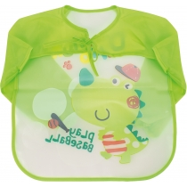 Фартух для дитячої творчості зелений, 35 x 40 см