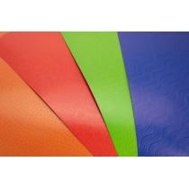 Набір кольорового картону з тисненням, А4, 9 арк., 9 кол.
