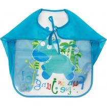 Фартух для дитячої творчості блакитний, 35 x 40 см