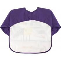Фартух для дитячої творчості фіолетовий, 40 x 45 см