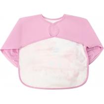 Фартух для дитячої творчості пастельний рожевий, 40 x 45 см